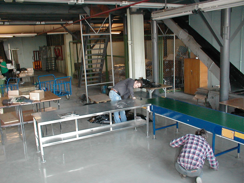 подготовка конвейера к работе